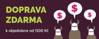 Doprava zdarma k nákupu od 1500 Kč