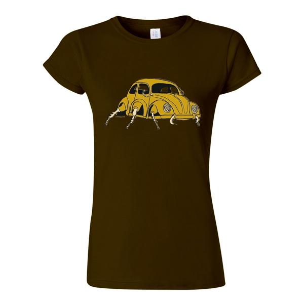 tričko dámské potisk vw beetle brouk