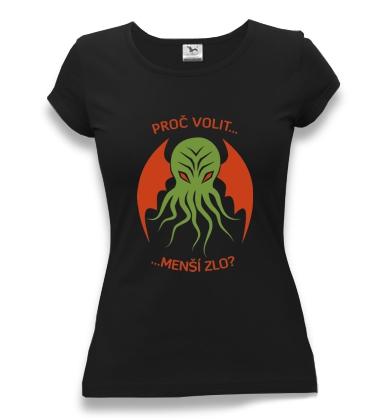 tričko dámské potisk chtulhu horor