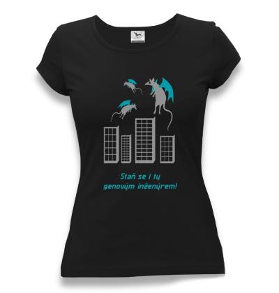 tričko dámské s potiskem genetický inženýr