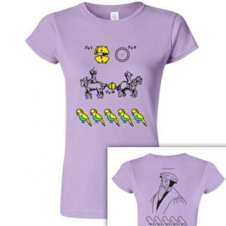 tričko dámské s potiskem kulervoucí kalvinismus