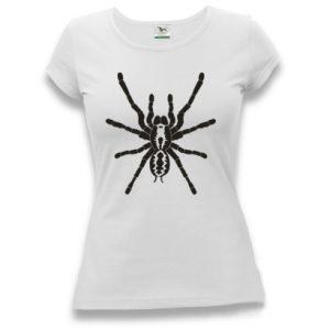 tričko dámské s potiskem pavouk