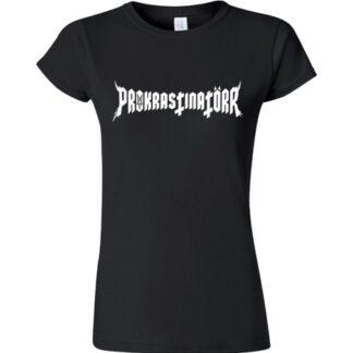tričko s logem kapely Prokrastinatorr