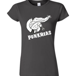 tričko dámské s potiskem punk pankreas