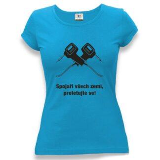 tričko dámské s potiskem Spojaři všech zemí