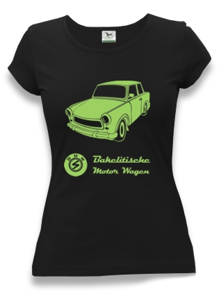 tričko dámské retro Trabant