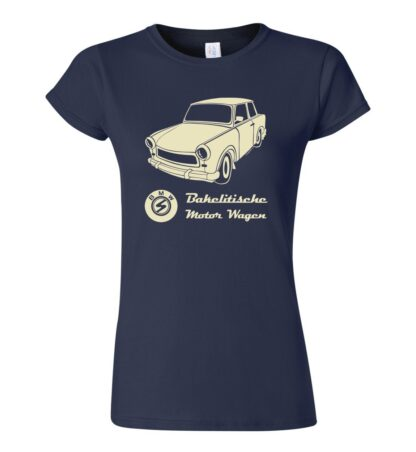tričko dámské s potiskem Trabant retro