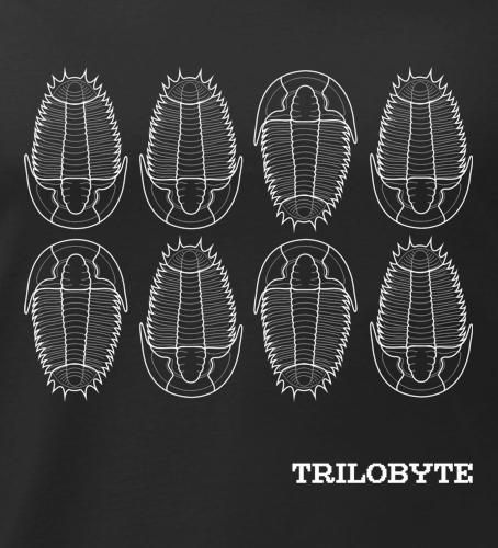 potisk trička trilobit