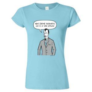 tričko dámské s potiskem Zlo Bugemos