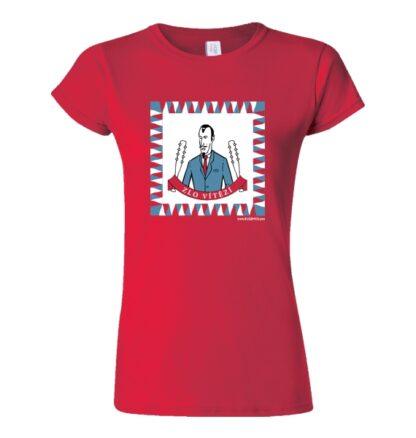 tričko dámské s potiskem Zlo vítězí Bugemos