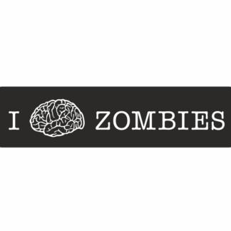 zombies nalepky