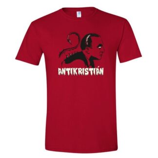 tričko s potiskem Antikristián