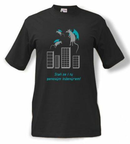 tričko potisk Genový inženýr