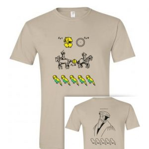 tričko s potiskem Kulervoucí - Kalvinismus Bugemos