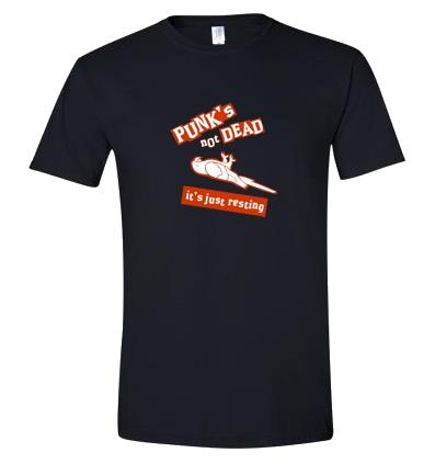 tričko s potiskem Mrtvý papoušek