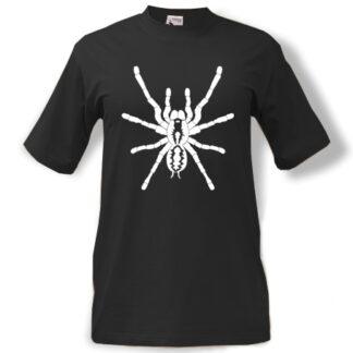trička s potiskem Pavouk