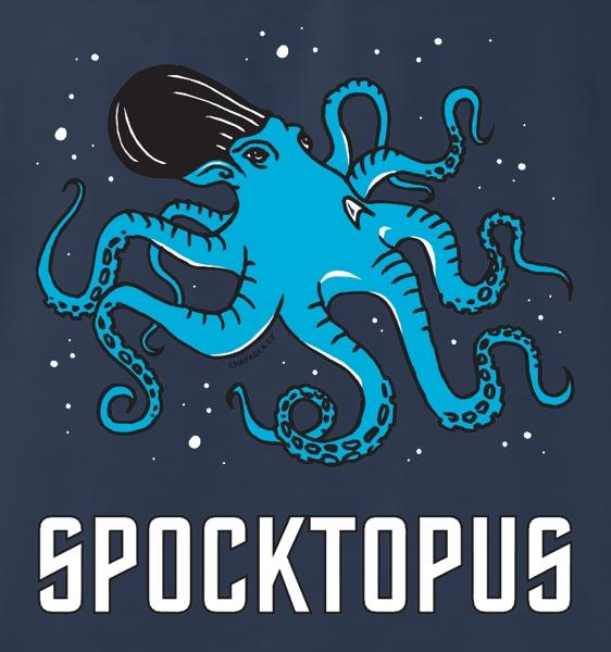 potisk trička Spock