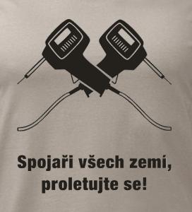 potisk trička Spojaři