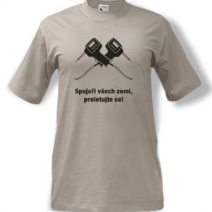 tričko potisk Spojaři