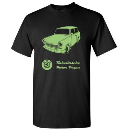 tričko pánské trabant s potiskem retro