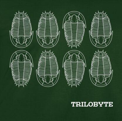 potisk trička Trilobyte