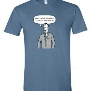 tričko s motivem bugemos zlo pánské
