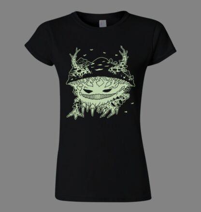 tričko dámské svítící ve tmě