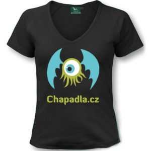 tričko dámské s potiskem Chapadla