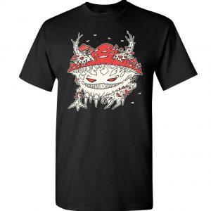 tričko pánské s potiskem svítící ve tmě