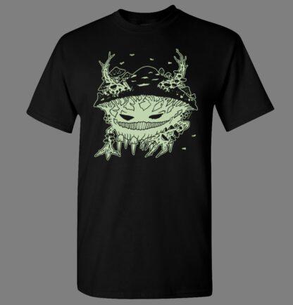 tričko pánské s potiskem svítícím ve tmě