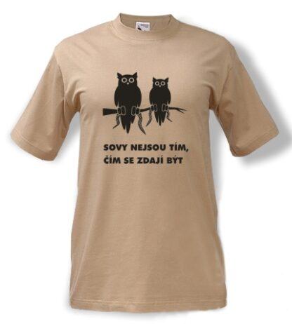 tričko s potiskem Sova Twin Peaks