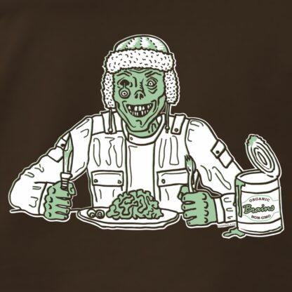 Potisk na tričko Zombie prepper