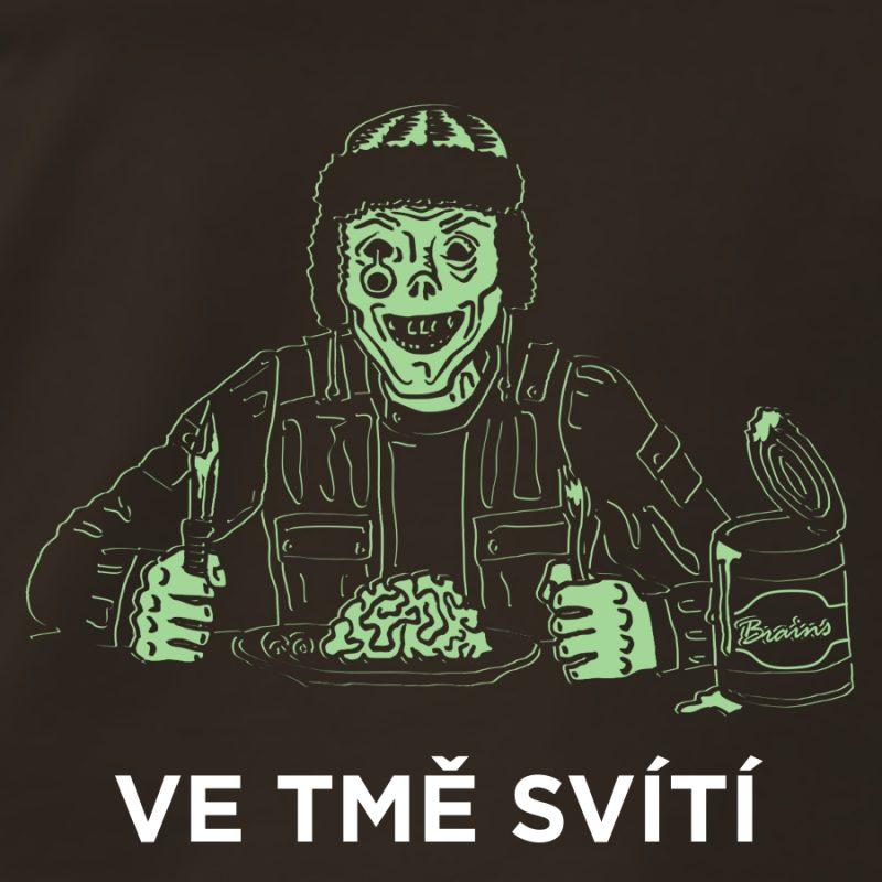 potisk trička zombie prepper